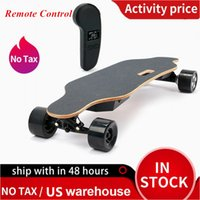 US-Stock-Dual-600W Motor Elektro-Scooter Skateboard-Fernbedienung 4 Räder Smart-Scooter Long Endurance Wasserdicht Skate