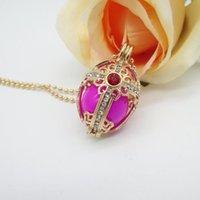 Кулон ожерелья красивый дизайн Золотой поперечный медальон со стразами и 16 мм Chime Ball Mexcian музыка беременности мода ожерелье Bijoux