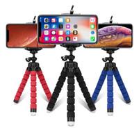 Stativ-Telefonhalter Universal-Stand-Halterung für Mobiltelefone Auto-Kamera Selfie-Monopod