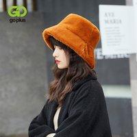 шляпа Повседневный Черный Теплый Hat GOPLUS женщин зимы для девушки Sombreros De Mujer Czapka Zimowa Damska Gorros De Invierno 201008
