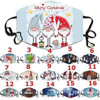Christmas Face Masks Printed Xmas Face Masks Anti Dust fog S...
