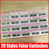 False Eyelashes 20 models Eyelash Extensions handmade Fake L...