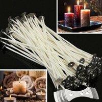 Candlewicks pre-cerato da 15 cm per la creazione di candele + 1 pz Staffa del supporto a 3 fori New JllLLC