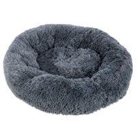 [HOBBYZOO] Pet Dog Cat Calming letto caldo morbido peluche rotonda marina Adatto per 10kg o sotto gli animali domestici.