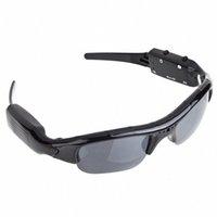 Leichte DVR-Sonnenbrillen-Kamera-Mini-Audio-Video-Recorder Outdoor-Sport-Radfahren-Klettern-DV-Videorecorder Brillen für Erwachsene Q0119