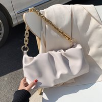 Chain PU Leather Party Clutch Bag For Women 2020 Lady Shoulder Bags Female Travel Handbags Simple Hand Bag C1008