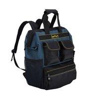 BAFFET أداة حقيبة مع أداة منظم كهربائي أداة حقيبة للتخزين Tradesman منظم حقيبة فني حقيبة فني LJ201119