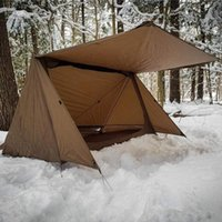 3 الموسم مزدوج شخص التخييم خيمة خفيفة النايلون المأوى خيمة خيمة لبشراء البقاء على قيد الحياة