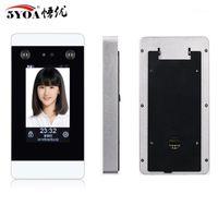 Dispositivo Wifi TCP IP Access Control Facial sistema de reconhecimento facial dinâmico 4,3 polegadas touch screen cartão de perfurador HD Camera Attendance1