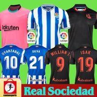 Real Sociedad 2020 2021 OYARZABAL X PRIETO Agirretxe ERKEK ÇOCUK Futbol Forma GRANERO Ödegaard Juanmi 20 21 camiseta de futbol Futbol Gömlek