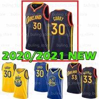 2020 2021 estado douradoGuerreirosJersey Stephen 30 Curry James 33 Wiseman Homens Juventude Davidson Wildcat College 20 21 camisas de basquete