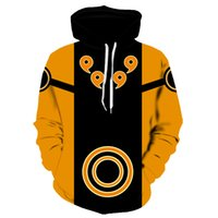 Naruto impermeabile, tasca, cappuccio, 3D, reale Manning, Donne, fresco bowenkleting, grande 6XL