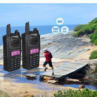 Hot Sale Baofeng BF-A58 Waterproof IP67 Walkie Talkie High Power CB Ham 50 20 KM Long Range A58 portable Two Way Radio hunting