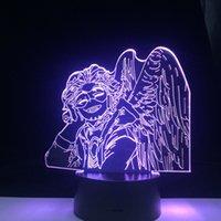 الصقور كيغو TAKAMI LED 3D ANIME LAMP MY HERO غرفة ACADEMIA ديكور الليل التحكم عن بعد الألوان هدية الجدول مصباح 3D