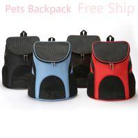 All'ingrosso della fabbrica di Oxford zaino Pet Dog Carrier Cheap Cat Bag traspirante Viaggi Pet Carrier per Roditori cucciolo Bag Small Dog Zaino