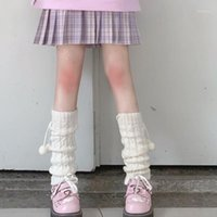 Calzini Hosiery Donne Knit Inverno Style Style Style Stivale Boot Ginocchio Alto calze Leggings Stivali caldi Leg1
