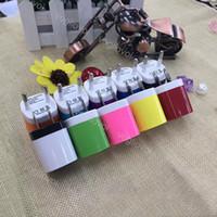 Trasformatori di illuminazione USB 1A 100-240 V Adattatore di alimentazione multicolore US EU Plug 2 Port Metallo Dual per iPhone Samsung LG Tablet IPAD DHL