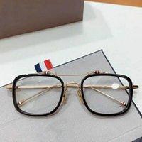 Moda Gafas de sol Marcos de alta calidad Thom Marca Aleación de acetato Acetato Marco para hombres Mujeres Gafas Myopia Prescripción Eyewear TB816