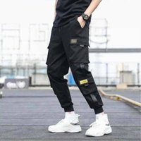 Hot Sale Brand Designer Streetwear Mens Multi Pockets Cargo ...