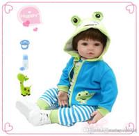 47 cm Bebés Reborn Muñeca Nuevo Hecho a mano Silicone Reborn Baby Lifelike Adorable Boy Bonecas Girl Niño Silicona Menú Muñeca Juguetes Niños