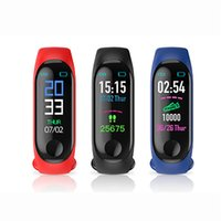 Armband m3 smart band fitness tracker sport armband passierer Herzfrequenz Blutdruck wasserdicht Monitor Herzfrequenz intelligente Uhr