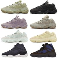 yeezy yeezys yezzy yezzys yzy boost Femmes Hommes Kanye Vision Pierre Sport Chaussures de course Source Runner Buand Utilitaire Desert Rat 500 Sneakers Blanc Clinder réfléchissant