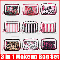 9 Styles Women PVC Cosmetic Bags Organizer Makeup Bag Waterp...