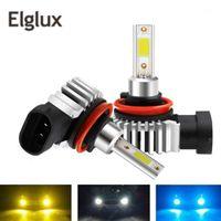 elglux 2 قطع h11 h7 h1 h1 h4 h4 h4 h4 h4 hi / lo bi beam led المصباح المصابيح 80 واط 12000lm / زوج أضواء السيارة 6000K الأبيض استبدال مصابيح السيارات 1