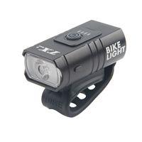 USB Carica della lampada per biciclette Sport All'aperto LUCI DI GUIDA LUCI DI GUIDA ALLUMINIO Faro impermeabile Vita elettrica Display Premere Interruttore 24dH O2