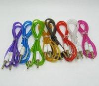 1M Jack 3.5mm Audiokabel Kristall multi Farben 3.5mm Auto-Zusatzkabel Kopfhörer-Verlängerungs-Code für Telefon MP3 Auto-Headset-Lautsprecher
