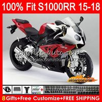 BMW S-1000 RR S-1000RR BODY S1000 RR S1000RR 15 16 18 18 6HC.1 S1000-RR S 1000RR S 1000 RR 2015 2016 2017 2017 Red Glossy Hot Fairing 100 % Fit