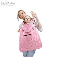 Transportadoras, lingas mochilas Bebê Baby Carrier Casaco Casaco Nascido Backpack Sling Mantle Capa Cape Sleep Bag à prova de vento para Ourdoor Winter1