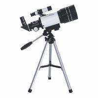 تلسكوب فلكي واسع الزاوية 150x مبتدئ أحادي المراقبة القمرية المهنية Zoom HD تلسكوب