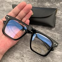 العلامة التجارية مصمم إطارات النظارات الأزياء الرجعية النظارات البصرية مربع النظارات الإطار للرجال النساء قصر النظر نظارات نظارات مع المربع الأصلي