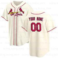 Cardinal Jerseys 2020 2021 Custom St Louis Nolan Arenado Beisebol Yadier Molina Paul Goldschmidt Marcell Ozuna Carlos Martinez Jack Flaherty