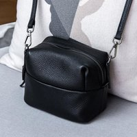 High Quality Genuine Leather Women' s Handbags Cow Leath...