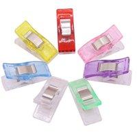 14 pcs Clips photo Ax clip Binder Pince Mémo Attache à ressort 27 * 10 mm sept couleurs en option couture bricolage manuel