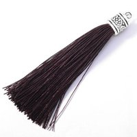 10pc Mini Silver Cap Head Tassel Jewelry Curtain Garments De...