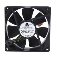 Fanlar Soğutma 90 * 90 * 25mm DC 12 V 0.60A 4-Pin Bilgisayar CPU Soğutma Fanları1