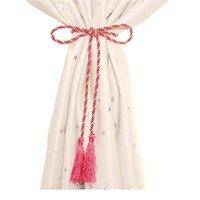 커튼 마그네틱 공 진주 현대 간단한 넥타이 백스 로프 새로운 장식 후크 홀더 타이 백 거실 accesso bbyopy