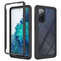 360 Corpo Full Slim Armor Phone Case para Samsung Galaxy Nota 20 S20 Ultra S10 PLUS S10E S20 FE com frete