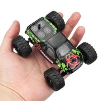 1:32 4Ch 2WD 2.4 GHz RC Car Auto Mini macchina Radio Controllo auto Off-Road Vehicle Modello Alta velocità 20 km / h arrampicata modello auto giocattoli Y200413