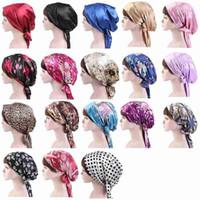 Дамы мягкий шелковый ночной ночной душ шапка для душа регулируемый длинный уход за волосами капот шапка шляпа сатиновые шляпы крышка головы для женщин
