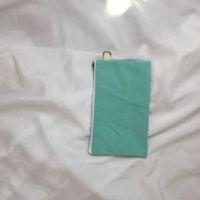 البساطة الفراغ قماش قلم رصاص القلم الحقائب القطن أكياس التجميل أكياس ماكياج الهاتف المحمول حقيبة مخلب 227 N2