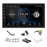 1din 7 pouces Android 8.1 Huit voiture stéréo STEREO Capacitive Capacitive Écran de presse 4G + 32G GPS Navigation GPS Bluetooth USB SD Lecteur SD DVD