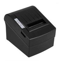 -8220 컴팩트 한 크기 무선 WiFi 열 영수증 프린터 80mm 자동 커터 USB + WiFi 방수 유화 열 프린터 1