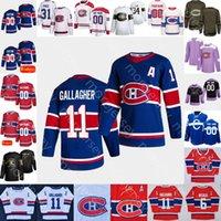 Personalizzato 2021 Montreal Canadiens Ice Hockey Jersey Jake Allen Brendan Gallagher Jesperi Kotkaniemi Perry Prezzo Shea Weber Roy Beliveau Richard
