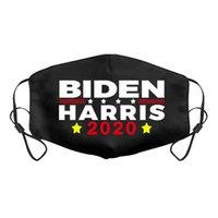 Joe Biden Harris Preto Cotton Máscara 2020 Eleição americana Suprimentos Dustproof respirável Máscara 3 estilos Impresso Máscara pano Máscaras EEA2165