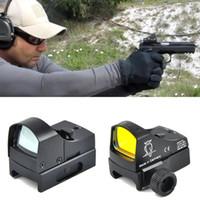 Docter الأحمر دوت البصر بندقية نطاق مايكرو نقطة رد الفعل المجسم البصر البصرية البصرية الصيد نطاقات الادسنس بندقية