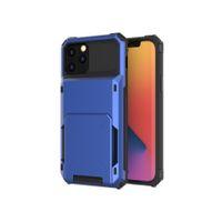 مناسبة لتفاح iphone12mini / برو / ماكس حالة الهاتف المحمول TPU + PC مكافحة خريف الوجه حالة الهاتف المحمول حالة